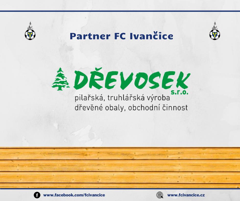 DŘEVOSEK partnerem FC Ivančice!