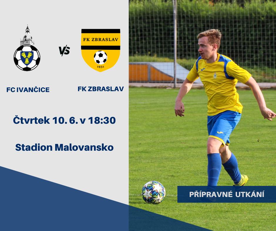 Ve čtvrtek proti FK Zbraslav