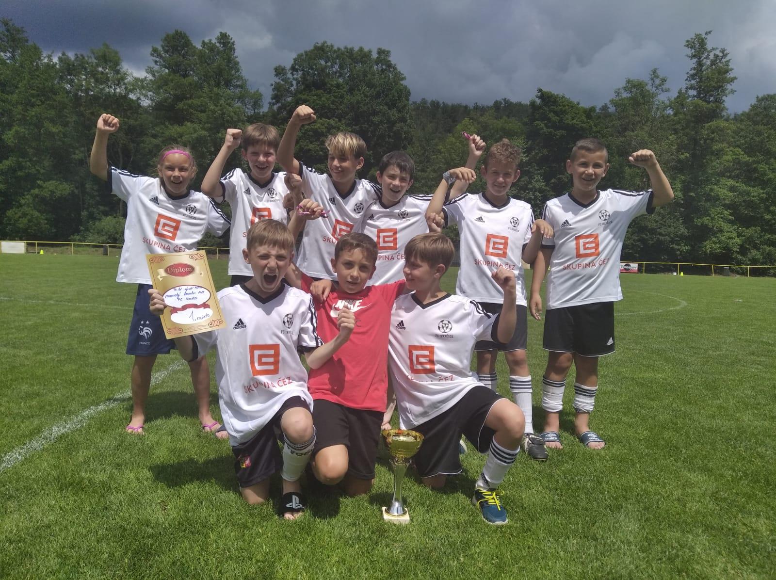 Mladší žáci vyhráli turnaj v Krumlově